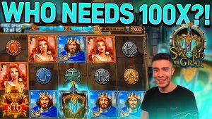 SWORD too THE GRAIL PAYING over again | large WIN ON PLAY N GO ONLINE SLOT MACHINE