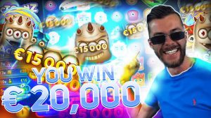 Streamer large win 20.000€ on Reactoonz Slot – Top 5 Biggest Wins of calendar week