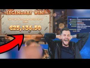 Top 5 tape wins inward casino bonus online! novel compilation of large Wins
