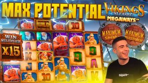 VIKINGS UNLEASHED MEGAWAYS BONUS purchase – MAX MULTI & SPINS | large WIN ON pattern ONLINE SLOT MACHINE