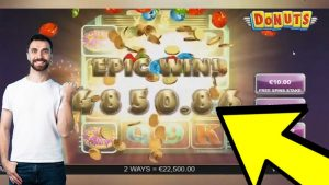WOW!!! DONUTS SLOT large WIN! EPIC WINS inward ONLINE casino bonus COMPILATION 2020
