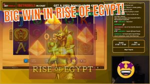 ascent of Arab Republic of Egypt!! Playson large Win..