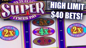 large JACKPOT BETS! ★ SUPER TIMES PAY ➜ MASSIVE JACKPOT WINS!