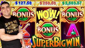 large Money With release Play ! KA-CHING CASH Slot Machine Max Bet Bonuses & HUGE WIN | Las Vegas