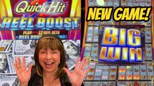 large WIN-15 loose GAMES PICK & 12 REEL SETS-QUICK striking REEL BOOST