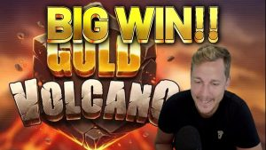 large WIN!!!! Au Vulcano large WIN – novel slot from Casinodaddys live current