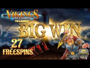 large WIN BEI VIKINGS UNLEASHED (pattern) – 0.80€ EINSATZ!