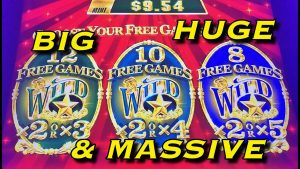 large WIN COLLECTION: Au BONANZA SLOT (Handpays in addition to large Wins Only)