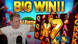 large WIN!!!! FU FORTUNES large WIN – casino bonus games from Casinodaddys live current
