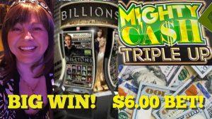 large WIN ON BILLIONS! MIGHTY CASH TRIPLE upward