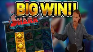 large WIN!!!! RAZOR SHARK large WIN – Online Slot from Casinodaddys live current