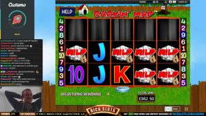 large WIN on Barkin' Mad Slot – £30 large BET