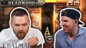 large WIN on DEADWOOD – casino bonus Slots large Wins