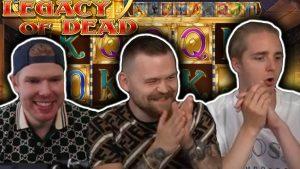 large WIN on LEGACY OF DEAD – casino bonus Slots large Wins
