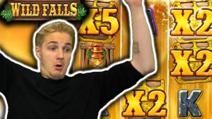 large WIN on WILD FALLS – casino bonus large Wins From Live current