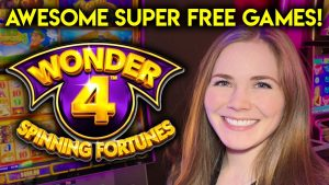 large Win! Super loose Games! Wild Leprecoins Slot Machine!!