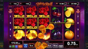 large Win casino bonus  DISE & ROLL