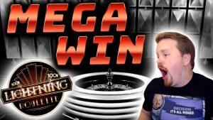 large Win inward Lightning Roulette