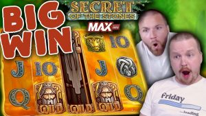 large Win on Secret of the Stones MAX