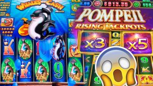 novel Slot Machine Huge Win + Oldies But large Wins.