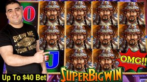 novel Slot Machines!! upward To $40 A Spin Slot Play – Huge Win & large COMEBACK On Dragon Link Slot Machine