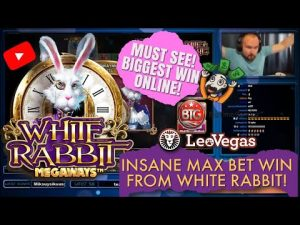 tape WIN!! INSANE MAX BET WIN FROM WHITE RABBIT SLOT! MUST consider! BIGGEST WIN ONLINE!