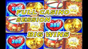 total casino bonus SESSION: Lots of large Wins + Live Play.