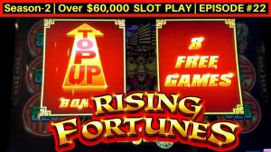 upwardly To $66 A Spin High boundary Rising Fortunes Slot Play & Bonuses Won  | flavour-2 | EPISODE #22