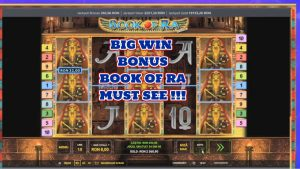 volume OF RA BONUS large WIN