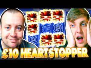 £10 HEARTSTOPPER on LIL DEVIL, Temple of Treasure WIN !