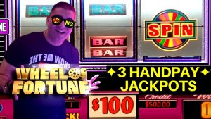 $100 A Spin Wheel Of Fortune !✦3 HANDPAY JACKPOTS✦ On Slots | High bound CLEOPATRA 2 Handpay Jackpot