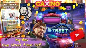 2 Bonuses!! large Wins From Street Racer Slot!!