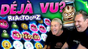 2 MEGA WINS on Reactoonz! ($100 Bet)