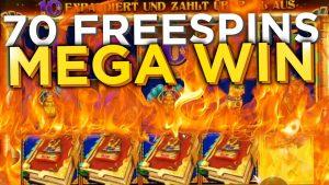 70 Freispiele large WIN volume of TUT Pragmatic Slot