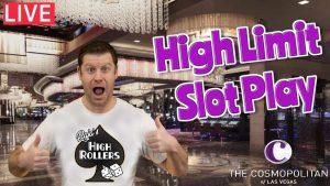 $ 8,500 Live High-border Slots iz Cosmopolitana iz Las Vegasa