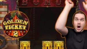 AMAZING LUCK ON GOLDEN TICKET 2 (Play'n GO) – MEGA large WINS