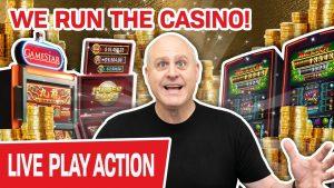 🔴 BIGGEST LIVE SLOT BETS ON YOUTUBE! 💻 We RUN The casino bonus!
