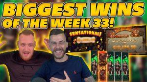 WIN TERBESAR DARI kalender minggu ke-33! GILA MENANG besar di Slot Online! SOROTAN TWITCH!