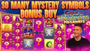 BONUS purchase ON GENIE JACKPOT MEGAWAYS MYSTERY WISHES | large WIN ON pattern ONLINE SLOT MACHINE