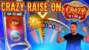 CRAZY TIME HITTING JUST AFTER RAISING THE STAKES | WINNING ON ONLINE casino bonus LIVE GAMES