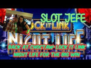 Bonus kasina Choctaw - první dorsum - Lock It Link pro velké výhry