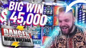 ClassyBeef large WIN inwards HIGH VOLTAGE   ONLINE casino bonus SUPER MEGA WIN yesteryear STREAMERS