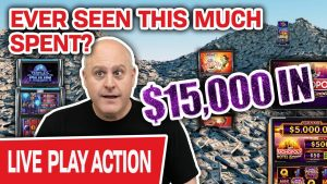 🔴 Ever Seen $15,000 SPENT LIVE on SLOTS? 😱 You're nearly To…