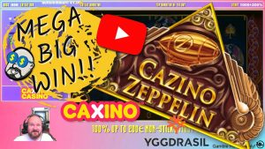 Extra Spins!! Mega large Win From Cazino Zeppelin!!