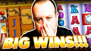 HIGH STAKES large WIN on optic OF HORUS together with RAINBOW RICHES Slots (wow!!)