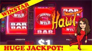 HIGH boundary PROGRESSIVE JACKPOT! DOUBLE JACKPOT GEMS – $nine BET – large WIN!! WINSTAR