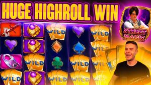 HIGHROLL STREET MAGIC BONUS PAYING OFF | large WIN ON PLAY N GO ONLINE SLOT MACHINE