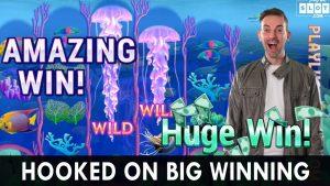 HOOKED ON large WINNING! Amazing Win on PlayLuckyLand
