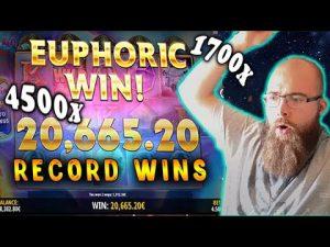 HUGE WIN! CasinoDaddy – BIGGEST WINS OF THE calendar week! casino bonus SLOTS#nine