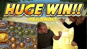 HUGE WIN!! GONZOS QUEST MEGAWAYS large WIN –  casino bonus slot from Casinodaddy LIVE flow